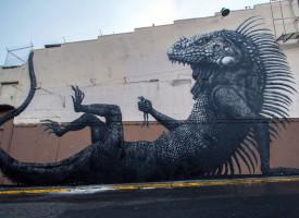 Životinje u uličnoj umetnosti