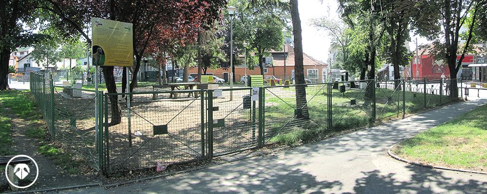 Čuburski park zona za pse