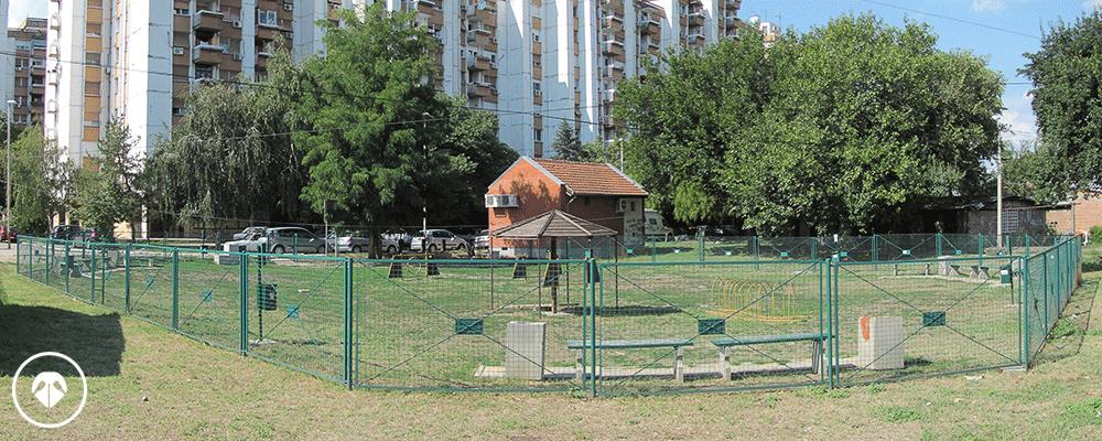 Pančićev park - zona za pse