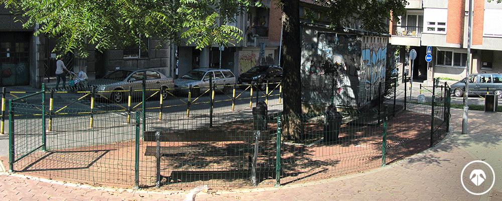 Park Kopitareva gradina - zona za pse