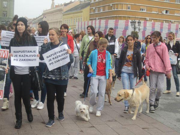Protest za Lajku