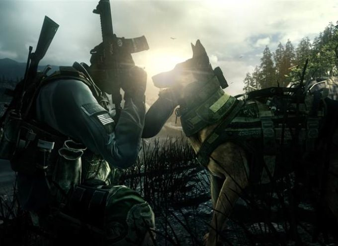 "Nemački ovčar Rajli novi akter popularne igre ""Call of duty: Ghosts"""